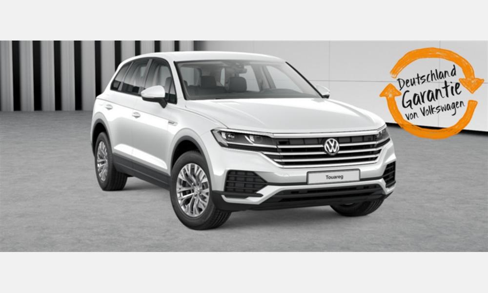 Der neue Volkswagen Touareg V6 TDI 3,0 l für 398€ im Monat
