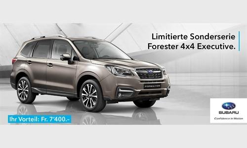 Foto der News Der limitierte Subaru Forester Executive