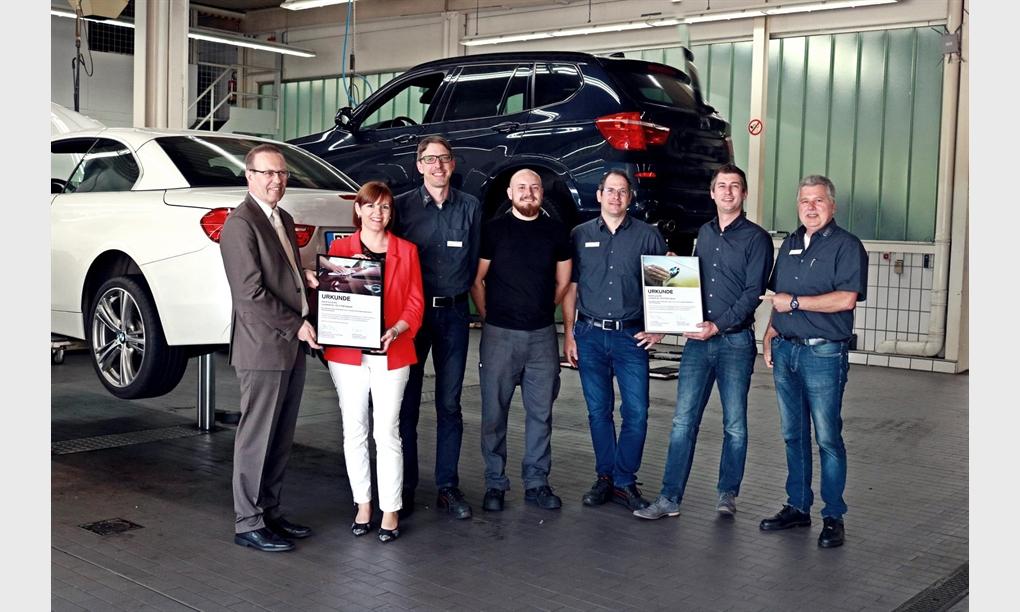 BMW UND MINI WERKSTATT-TEST AUCH 2018 MIT BESTNOTE BESTANDEN.