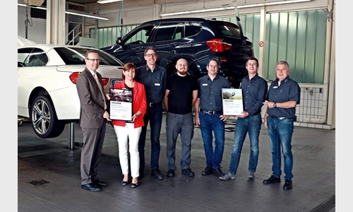 Foto der News BMW UND MINI WERKSTATT-TEST AUCH 2018 MIT BESTNOTE BESTANDEN.