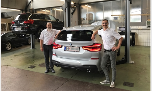 Foto der News BMW Unterberger Nenzing baut Werkstattangebot aus
