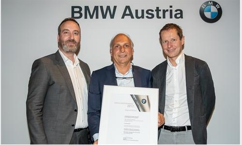 Foto der News BMW Group Kompetenzzentrum Unterberger-Denzel ist bester BMW i Händler in Zentral- und Südosteuropa