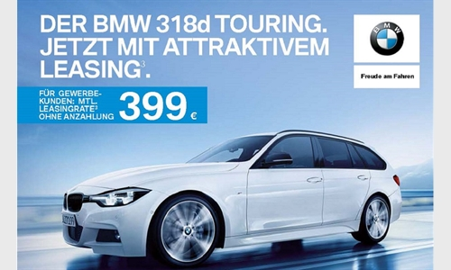 Foto der News DER BMW 318d TOURING.