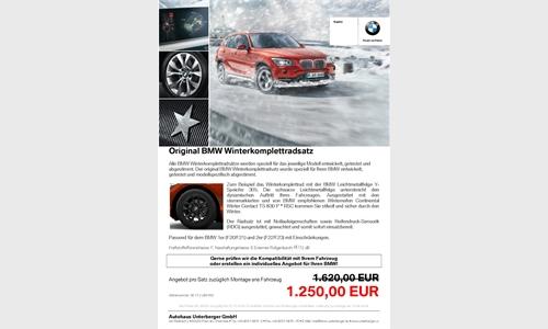 Foto der News Original BMW Winterkomplettradsatz