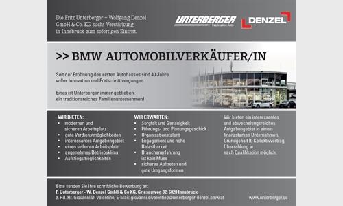 Foto des Stellenangebots BMW AUTOMOBILVERKÄUFER/IN
