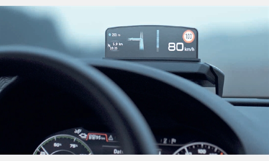 Foto des Zubehörangebots Audi Head-Up Display