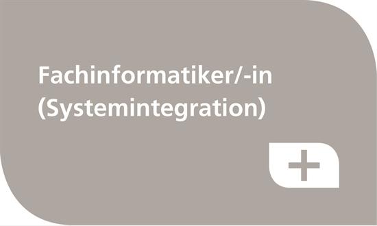Foto des Stellenangebots Ausbildung Fachinformatiker Systemintegration (m/w)