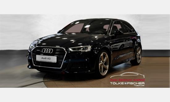 Foto des Serviceangebots Audi A3 2.0 TDI S line quat./ Sportpaket Navi LED für 34.980€