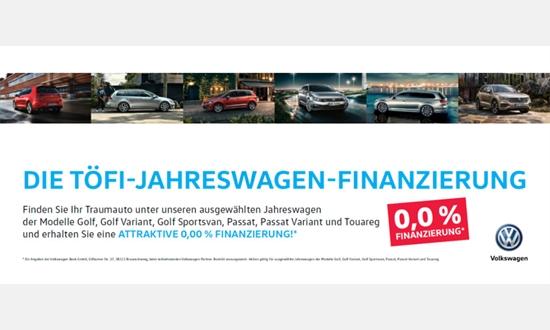 Foto des Serviceangebots Null Prozent Finanzierung auf Jahreswagen