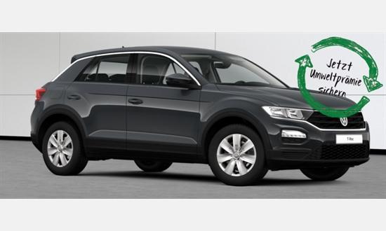 Foto des Serviceangebots Volkswagen T-Roc  1.6 l TDI SCR für 154€¹ im Monat