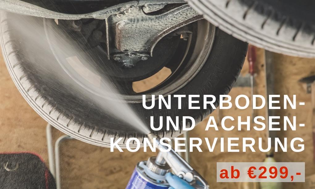 Serviceangebot: Unterboden- und Achsen-Konservierung