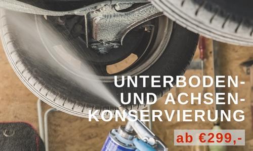Foto der News Serviceangebot: Unterboden- und Achsen-Konservierung