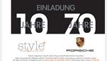 Foto des Events Historie. Gegenwart. Zukunft. Style of Zug und das Porsche Zentrum Zug feiern
