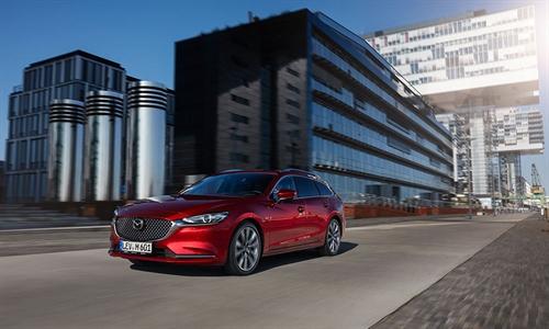 Foto der News NCAP: Höchstwerte für Mazda6