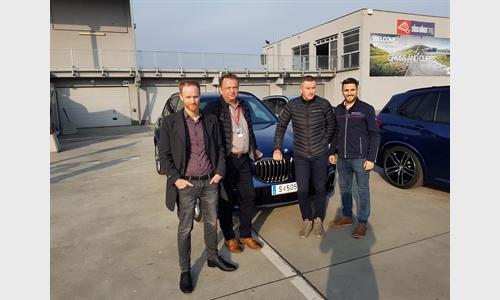 Foto der News BMW X5 und BMW 8er Schulung in Bratislava