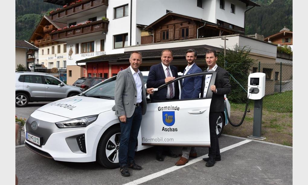 Umweltfreundliche Mobilität für die Gemeinde Aschau im Zillertal