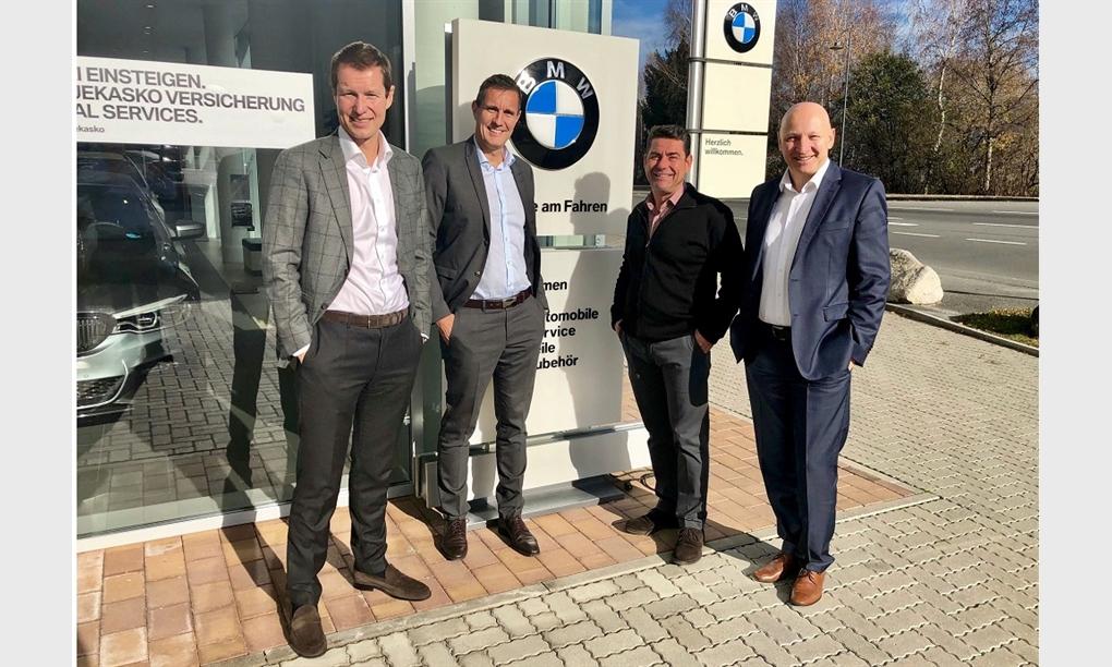 Unterberger Automobile kooperiert mit BMW Kaufmann in Kaprun
