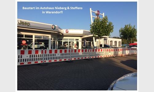 Foto der News Baustart bei Nieberg & Steffens in Warendorf!