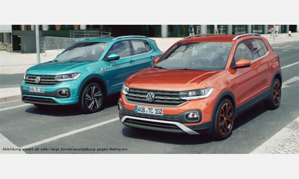 Volkswagen T-Cross 1.0 l TSI OPF für 169€ im Monat