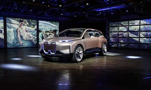 Foto der News Zukunftsbaukasten der BMW Group. Der BMW Vision iNEXT feiert Weltpremiere in Los Angeles.