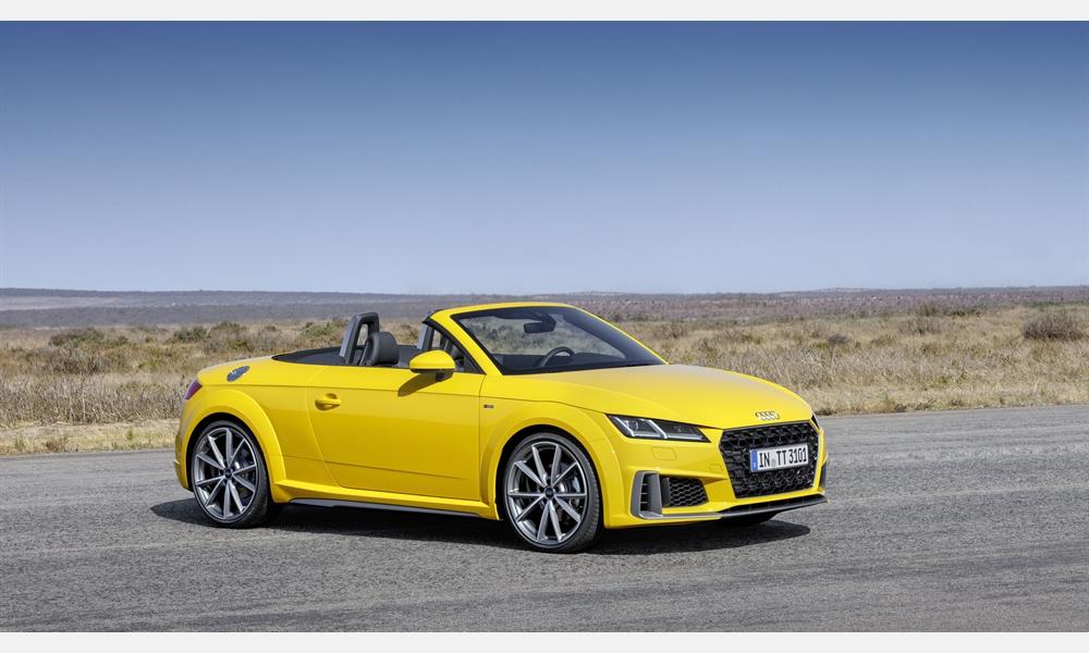 Der neue Audi TT ab sofort bestellbar