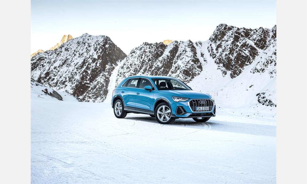 Fünf Sterne für den Audi Q3 beim Euro NCAP Test