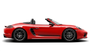 The new  718 Boxster T