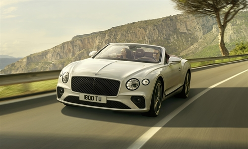 Der neue Bentley Continental GT Convertible