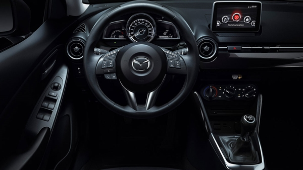 Zentriertes Cockpit