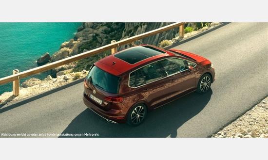 Foto des Serviceangebots Volkswagen Golf Sportsvan Comfortline 1,6 l TDI für 99€ im Monat