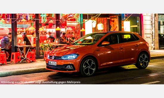 Foto des Serviceangebots Volkswagen Polo Comfortline 1,0 l für 139€¹ im Monat