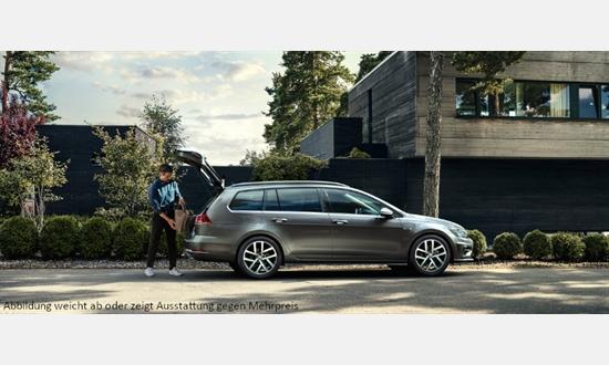 Foto des Serviceangebots Volkswagen Golf Variant Comfortline 1,6 l TDI SCR für 174€¹ im Monat