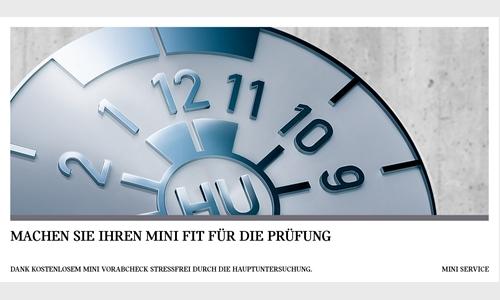 Foto der News FÜR EIN PRÜFERGEBNIS, DAS SIE UND IHREN MINI STRAHLEN LÄSST.