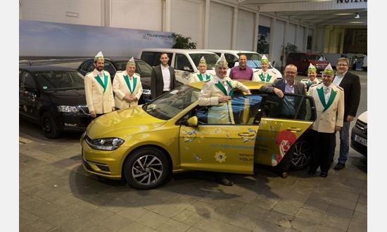Foto der News Fahrzeugübergabe an die Krefelder Prinzengarde 2019