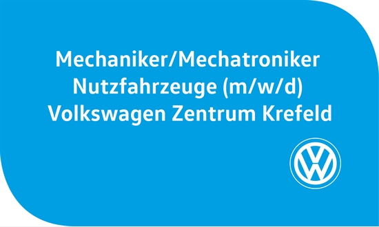 Foto des Stellenangebots Mechaniker/Mechatroniker Nutzfahrzeuge (m/w/d) Volkswagen Zentrum Krefeld