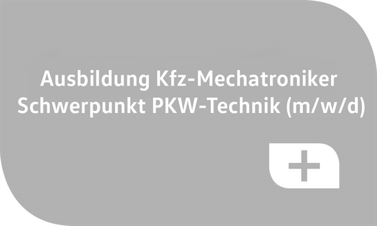 Foto des Stellenangebots Ausbildung Kfz-Mechatroniker Schwerpunkt PKW-Technik (m/w/d)