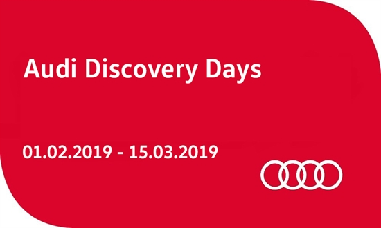 Foto des Events Audi Discovery Days