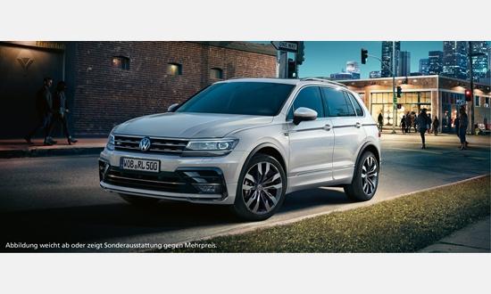 Foto des Serviceangebots Volkswagen Tiguan Trendline 1,5 l TSI OPF für 197€ mtl.