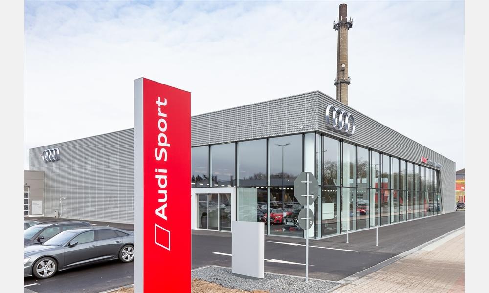 Das neue Audi Zentrum Krefeld