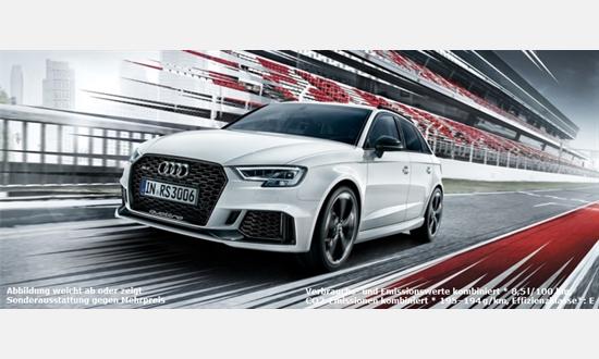 Foto des Serviceangebots Audi RS 3 Sportback für 398€ im Monat