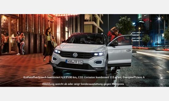 Foto des Serviceangebots Volkswagen T-Roc 1.6 l TDI SCR 6-Gang für 23999€