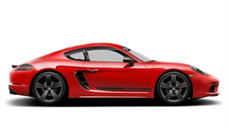 The new 718 Cayman T