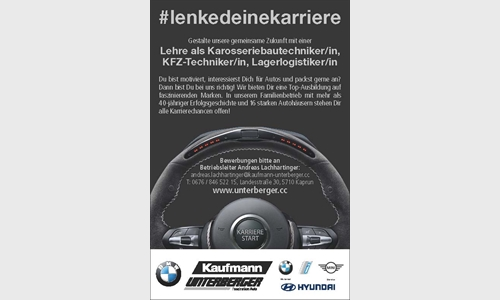 Foto des Stellenangebots Lehre als Karosseriebautechniker/in, KFZ-Techniker/in, Lagerlosgistiker/in