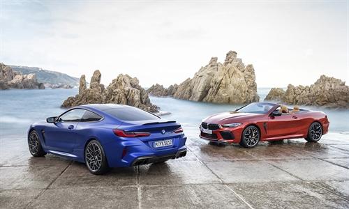 Das neue BMW M8 Competition Coupé und das M8 Competition Cabrio