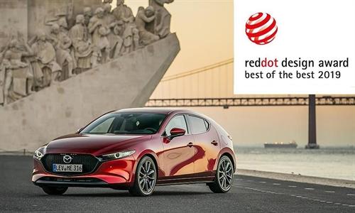 Foto der News Red Dot Award für Mazda3