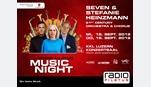 Foto der News Radio Pilatus Music Night mit Stefanie Heinzmann und Seven