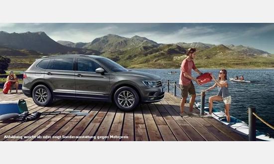 Foto des Serviceangebots Volkswagen Tiguan Allspace Highline 2,0l TDI SCR 4Motion für 249€ im Monat
