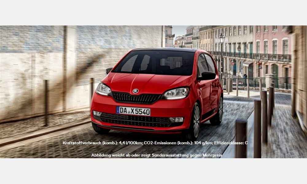 ŠKODA Citigo 1,0 MPI Cool Edition für 8475€