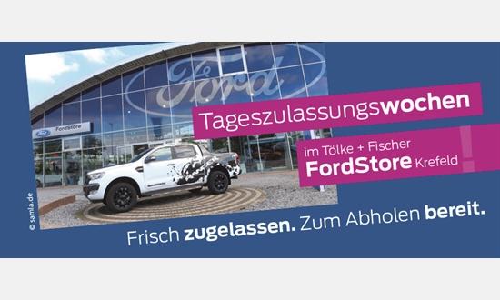 Foto des Serviceangebots Tageszulassungswochen im Ford Store Krefeld
