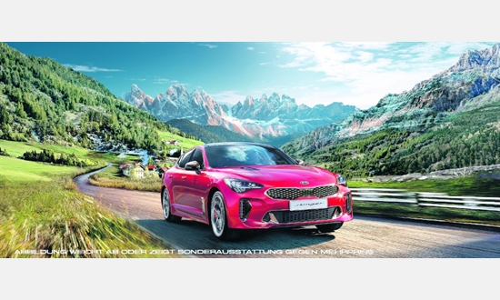 Foto des Serviceangebots KIA Stinger 2.2 CRDi AWD GT-Line Exlusive-/Technolgie-Paket für 43.990 €